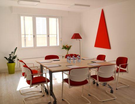 Salle rendez-vous entretien en location à Angers