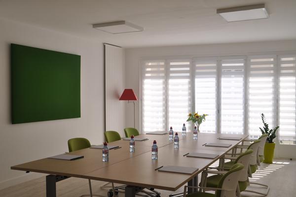 Salle verte de réunion Angers